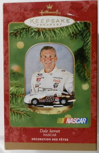 2001-hallmark-keepsake-ornament-nascar-dale-jarrett-88-ups-racing-ford-taurus-christmas-tree-ornamen