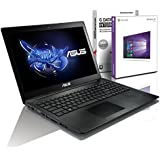 ASUS (15,6 Zoll) Notebook (Intel N3710 Quad Core 4x2.56 GHz, 4GB RAM, 640GB S-ATA HDD, Intel HD Graphic, HDMI, VGA, Webcam, USB 3.0, USB Type-C, WLAN, DVD-Brenner, Windows 10 Professional 64-Bit #5383