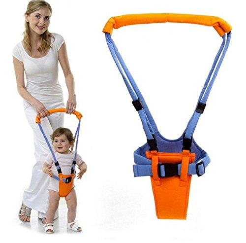 Mochila Portabebés para Aprender a Caminar,GZQ,Ajusta los Bebe entre 6-32 meses, Color Amarillo y Azul