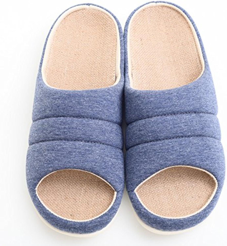 Navidad fankou Cartoon cálido invierno par de zapatillas de algodón estancia encantadora con un paño suave, macho...