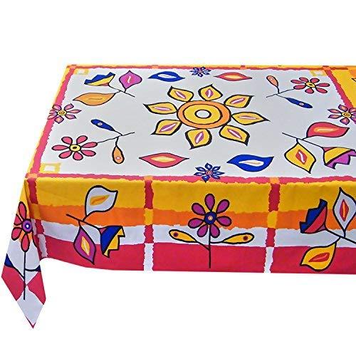 Kutex-tovaglia rettangolare 140 x 180 cm barbablÙ 100% cotone made in italy- hand made