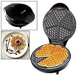 Voche® 700W Electric Waffle Maker - Home Waffle Making Machine Makes 5 Heart