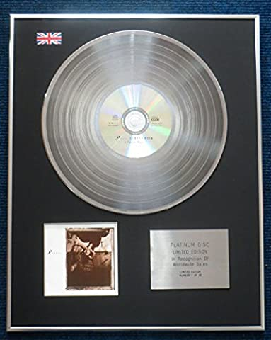 pixies- Limited Edition CD Platinum LP Disc – Surfer Rosa