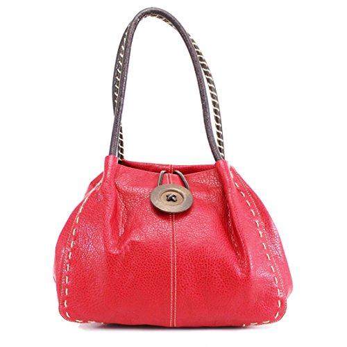 HB Style, Borsa a spalla donna Red
