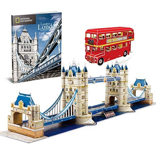 PUZZLE 3D LONDON TOWER BRIDGE 216 STÜCKE RAVENSBURGER 12559 BUILDING Puzzles & Geduldspiele