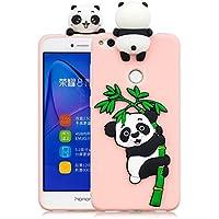 Everainy Huawei P8 Lite 2017 Silikon Hülle Ultra Slim 3D Panda Muster Ultradünn Hüllen Handyhülle Gummi Case Huawei... preisvergleich bei billige-tabletten.eu