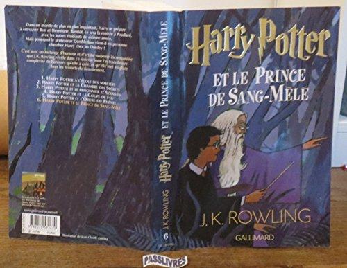 Harry Potter. VI:Harry Potter et le Prince Sang-Mêlé