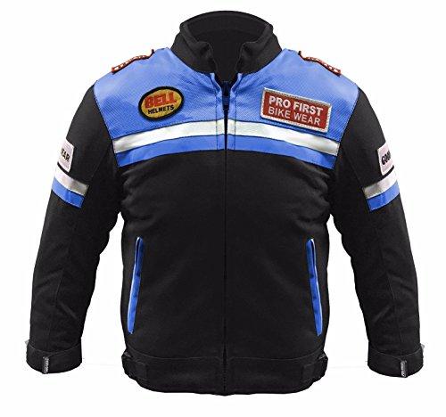 415 Children Motorbike Motorcycle Jacket Coat Kids Motocross Protective Clothing Gear CE Armoured