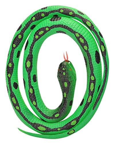 Wild Republic 20771 Gummischlange Gartennatter grün 117 cm