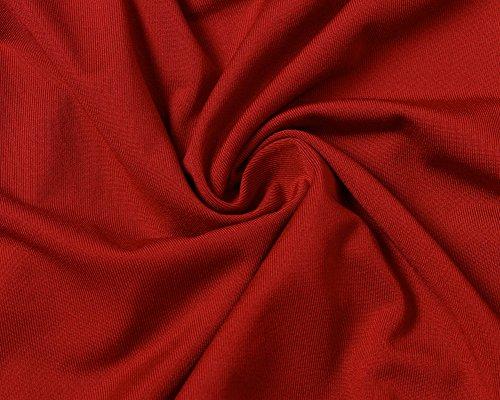 Maliga Camicetta Blusa Manica Lunga Casual Pizzo Elegante Cotone Ufficio Girocollo T-shirt per Donna Rosso
