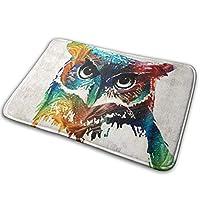 """Door Mat Non Slip Indoor Colorful Owl Door Mat Non Slip Indoor15.7"""" X 23.5"""""""