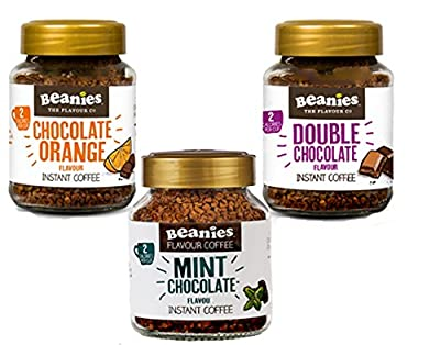 Beanies Instant Coffee Trio Pack - 3 x 50g Jars of 'Double Chocol from Beanies