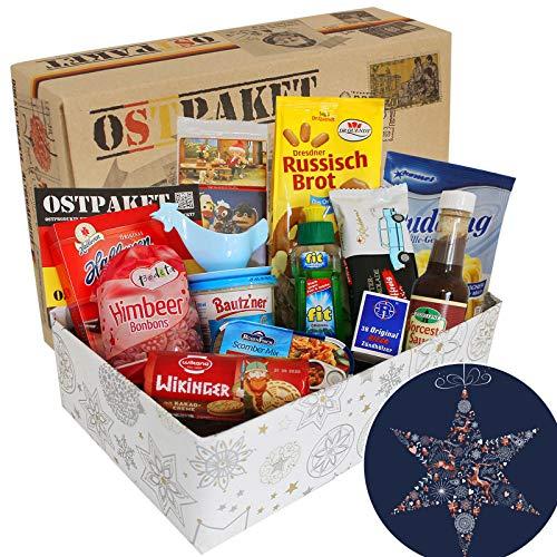 Ostprodukte Geschenkpaket Weihnachten Geschenkkorb, beliebte DDR Produkte