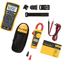 Fluke 117/323 Electricians Multimeter Combo Kit - multímetros (LCD)