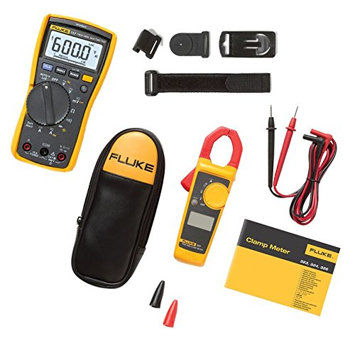 Fluke 117/323 Kit Multimeter für Elektriker, Combo,