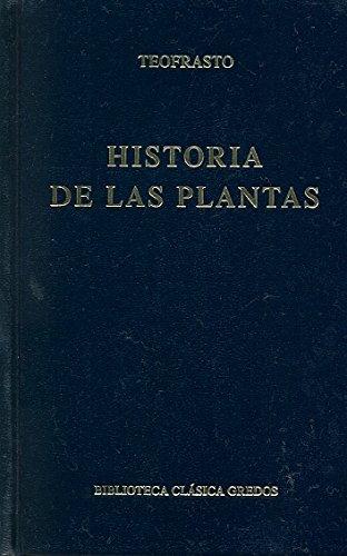 Historia plantas (B. BÁSICA GREDOS) por Teofrasto