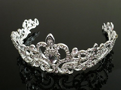 silver-wedding-bridal-princess-crystal-rhinestone-prom-hair-tiara-crown-headband-fs0100