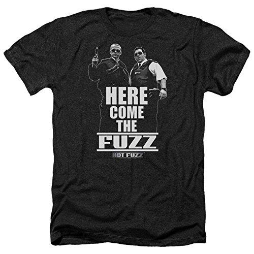 Hot Fuzz Herren T-Shirt Opaque schwarz schwarz, schwarz - Fuzz-t-shirt Hot