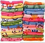#6: Style Urban Multi Purpose Floral Print Beautiful Face Towel Set of 18 Pcs.