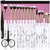 Make Up Pinsel Set ALLFY 16Pcs Premium Synthetic Lidschatten Pinsel Augenbrauen Eyeliner Blending...