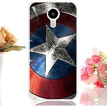 Prevoa ® 丨 MEIZU METAL Funda - Colorful Silicona Protictive Carcasa Funda Case para MEIZU METAL 5,5 Pulgadas 4G LTE Smartphone - 9