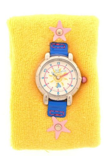 Lulu Castagnette Kinder-Armbanduhr Analog gelb 38186