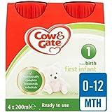 Vache Et Porte 1 Premier Lait Prêt À Nourrir Multipack 4 X 200Ml - Paquet de 4