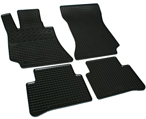 Gummi Fussmatten Set RI901658 (Mercedes E-klasse Fußmatte)