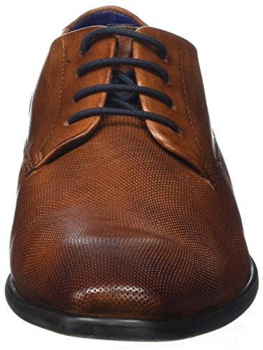 Daniel Hechter 811430014100, Derbys Homme Marron (Cognac)