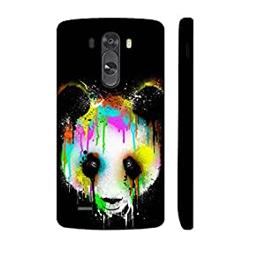 LG G3 Dripping Panda designer mobile hard shell case by Enthopia