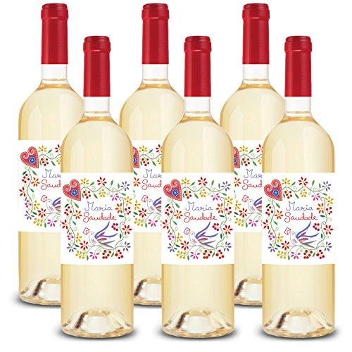 Maria-Saudade-Set-6x-075-Lit-Grner-Wein-Vinho-Verde-Portugal