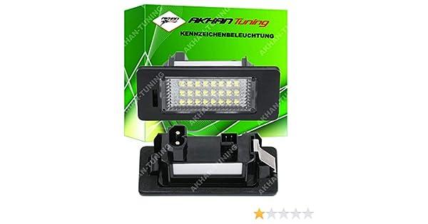 akhan kb135/ E82/E88 E90/E91/E92/E93 E60/E61 /LED NUMBERPLATE Module Unidad Completa Plug n Play Adecuado para BMW E39/E46