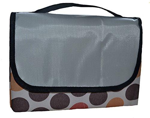 1x Picknickdecke Ausflugsdecke Stranddecke picnic blanket 178 cm x 145 cm