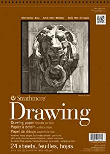"""Strathmore Artist Papers 400 Series Drawing Paper Pad (9""""x 12"""")"""
