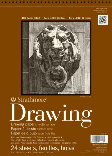 Strathmore Artist Papers 400 Series Drawing Paper Pad (9