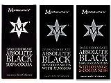 3 x 100g Bars Mixed Case Montezuma's Absolute Black 100%...