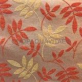 Tela para tapicería al metro tela revestimiento felpilla terciopelo sintética naranja
