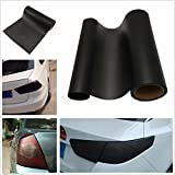 #8: Motopart Car DIY Scrub Matte Black Car Headlight Tail Light Tint Vinyl Film Cover Decal Sticker Fit