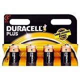 Duracell Plus - Pilas C/LR14 1,5 V - Cx4 [importado de Reino Unido]