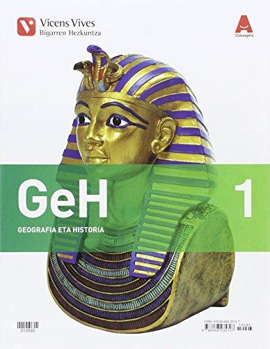 GEH 1 (1.1-1.2)+ SEPARATA PAIS VASCO 3D IKASGELA: GeH 1. Geografia Eta Historia. Liburua 1, 2 Eta Eranskina. 3D Ikasgela: 000003 - 9788468235707 por Abel Albet Mas