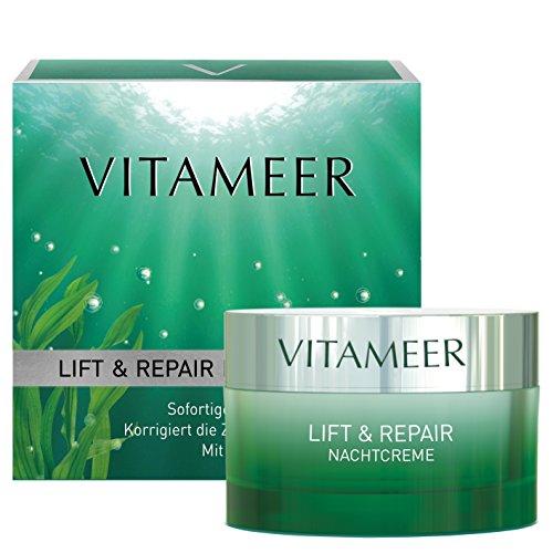 "VITAMEER® regenerierende Nachtcreme, vegan, mit Meereswirkstoffen | ""verjüngt"" die Zellen um..."