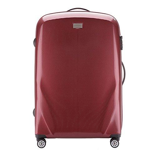 WITTCHEN Gran Maleta Color: Borgoña Material: Policarbonato Tamaño: 79 x 53 x 27 cm Peso: 4,8 kg Capacidad: 85 l Colección: PC Ultra Light de 56 - 3P de 573 - 35