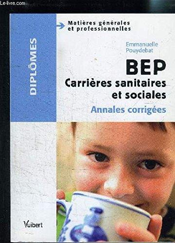 BEP carrières sanitaires et sociales : Matières générales