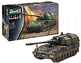 Revell 03279 Panzerhaubitze 2000 originalgetreuer Modellbausatz für Fortgeschrittene, Mehrfarbig, 1/35 -
