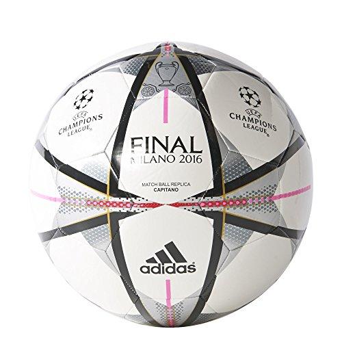 adidas Finale Milano Capitano Fußbälle weiß, 4 -