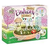 TOMY My Fairy Garden Spielzeugset - Magischer Einhorn-Garten für Kinder ab 4 Jahre zum selber Pflanzen & Spielen, 1 x Set Einhorn Garten inkl. Grassamen