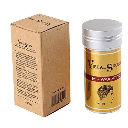 Weicici Hair Styling Wachs-Stick für Männer Erstellen Sie Textur und halten Sie Haarpflege 75g Haar-styling-wax-stick