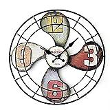 Wanduhr Geräuschlos, Likeluk 15 Zoll(40cm) Quartz Lautlos Wanduhr Uhr Vintige Schleichende Sekunde ohne Ticken