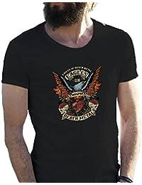 Eagles Of Death Metal Color Camiseta para hombre en grandes tamaños