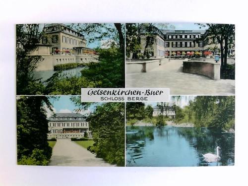 1 Postkarte: Gelsenkirchen-Buer. Schloss Berge